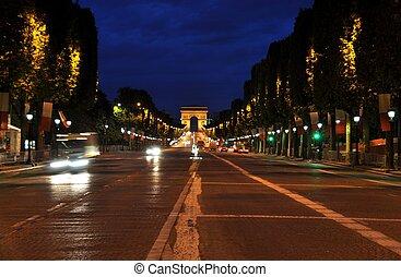 The Champs-Elys?es