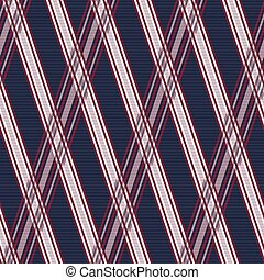 Seamless pattern in blue, grey and red