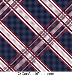 Seamless pattern as textile texture - Seamless vector...