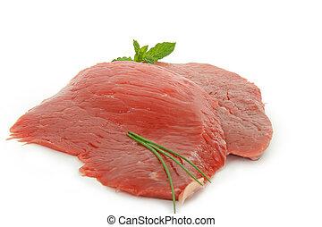 beefsteak - isolated beefsteak