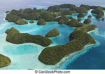 Palauan islands