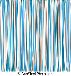 Blue Vertical Striped Pattern Background - Blue-Beige-White...