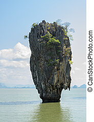 James Bond Island, Thailand - Beautiful landscape of James...