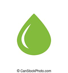 drop of water icon green