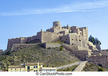 Cardona castle is a famous medieval castle in Catalonia. Now...