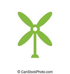 design wind turbine icon