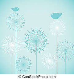 Cute baby shower blue invitation card design. Vector...