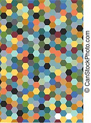 Octagon shape pattern background