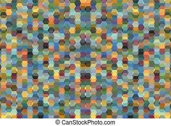 Octagon shape pattern background.
