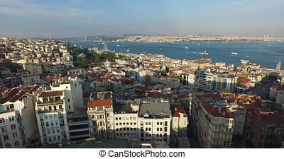 Istanbul panorama from Galata Tower