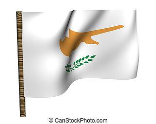 Cyprus. National Flag