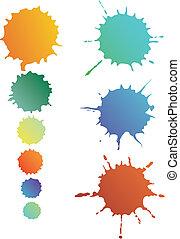 Splash shapes