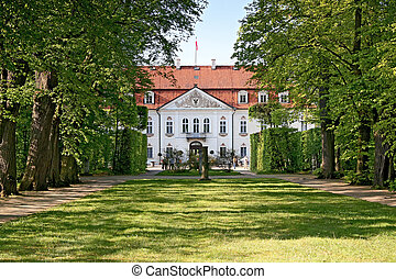 Old palace - Palace of Radziwill in Nieborow, Poland