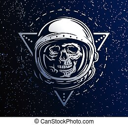 Dead astronaut in a spacesuit. - Lost in Space. A dead...