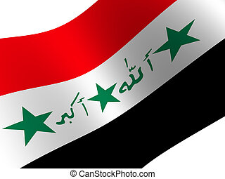 Iraq - National Flag. Iraq