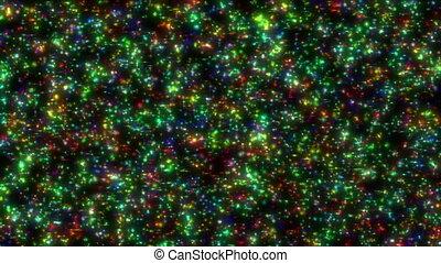 sparks color background