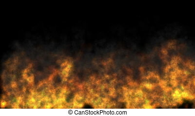 fire abstract flame