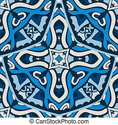 Abstract seamless pattern for fabric