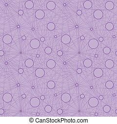 Seamless vector pattern of linear mesh on isolated...