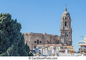 Cathedral in Malaga