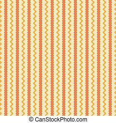 Seamless pattern with wavy and roundish elements - Seamless...