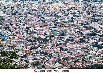 Salta, Argentina - Aerial view of Salta, Argentina