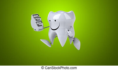 Fun tooth - Computer animation