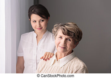 Dignity is important in care for older people - Young carer...