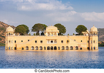 Jal Mahal palace - Jal Mahal meaning Water Palace is a...