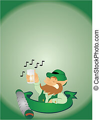Singing on St Paddys Day
