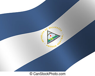 Nicaragua - National Flag. Nicaragua