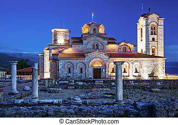 St. Panteleimon Church - Church of St. Panteleimon in Ohrid,...