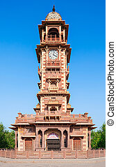 Clock Tower, Jodhpur - Famous victorian Clock Tower in...