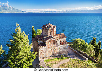 St. John Church - Church of St. John at Kaneo, Ohrid,...