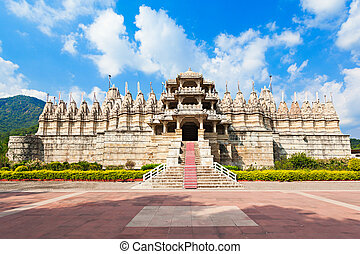 Ranakpur Temple, India - Ranakpur Temple is a jain temple in...