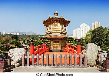 Nan Lian Garden, Chi Lin Nunnery, Hong Kong