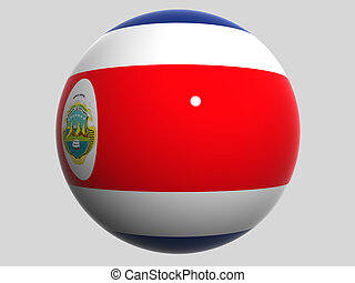 Costa Rica - National Flag. Costa Rica