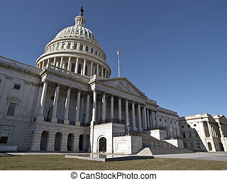 United States Capitol - The US Capitol on a quiet Sunday...