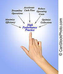 Diagram of High Performance Practices