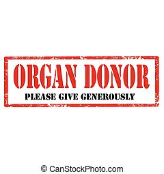 Organ Donor-stamp