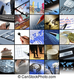 Business images - Collection of twentyfive images relating...