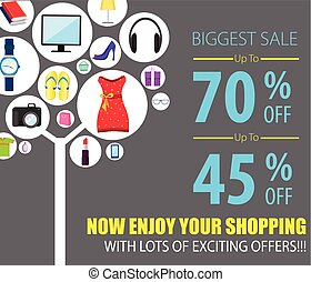 Shopping Sale Poster