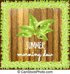 Spring positive postcard - Summer positive postcard for...