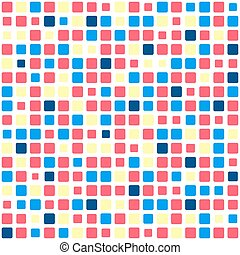 Tiled seamless pattern - Vector seamless pattern Abstract...