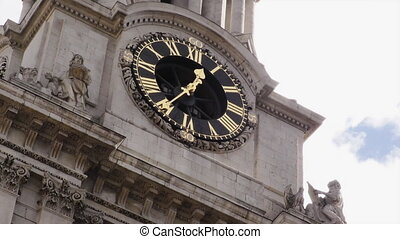 Saint Pauls Cathedral, Clock - Saint Pauls Cathedral, Detail...