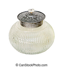 Sugar bowl - Crystal sugar bowl with clipping path included