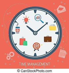 Clock - concept time management