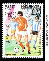 Cambodian, postzegel