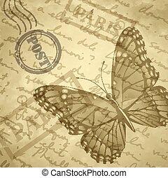 Light beige grange scratched background old paper