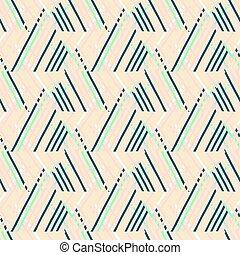 Striped chevron vintage pattern